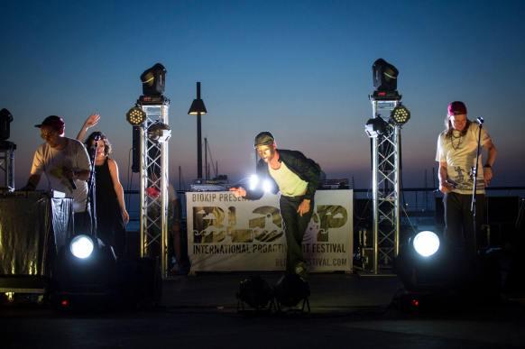 Freakatronic BLOOP Street Art Festival, Ibiza Photo © Marc Colomines
