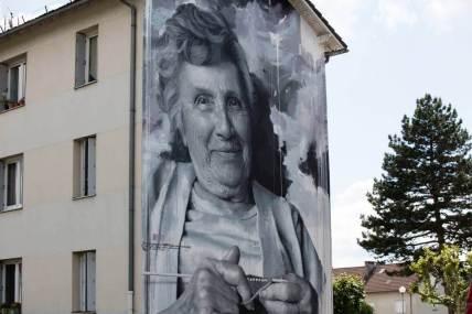 Sismikazot, 10eme Street Art Festival, Aurillac, France Photo © Ali Abou El Jinane