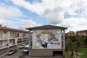 Millo, Impronte Street Art Festival photo © Antonio Sena