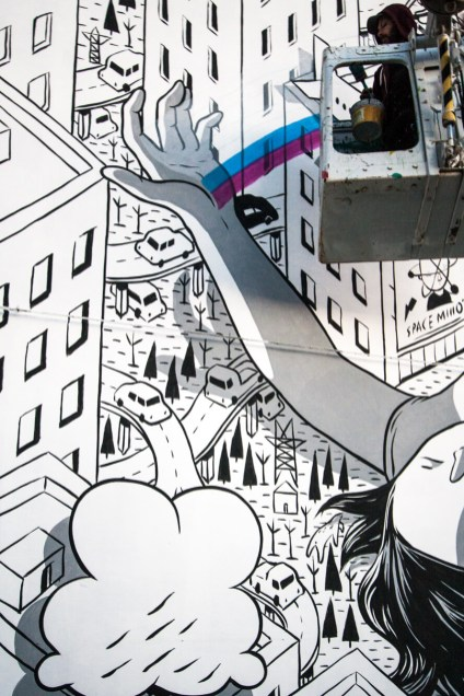 Millo, Impronte Street Art Festival photo © Salvatore Curcio