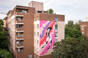 Fafi, Urban Nation - Street art Project M/9, Photo © Nika Kramer#projectM #UrbanNation #MuseumofUrbanAndContemporaryArt #Berlin#projectM #UrbanNation #MuseumofUrbanAndContemporaryArt #Berlin