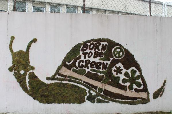 Green, Grenoble Street Art Fest