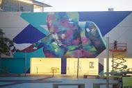 Hueman, RFK Street Art Mural Photo © KungFuBreakfast
