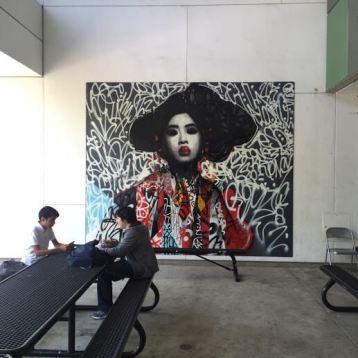 Hush, RFK Street Art Mural Photo © Branded Arts