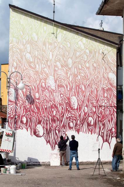 Tellas, Impronte Street Art Festival photo © Antonio Sena