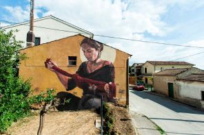 Nodo Milu Correch, Impronte Street Art Festival photo © Antonio Sena