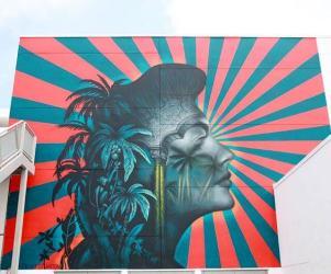 Beau Stanton, RFK Street Art Mural Photo © Branded Arts