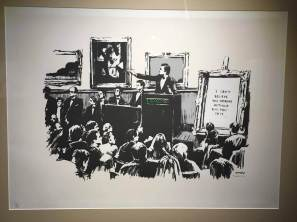 The Art of Banksy, Street Art show, Amsterdam Photo © Dan Kemp