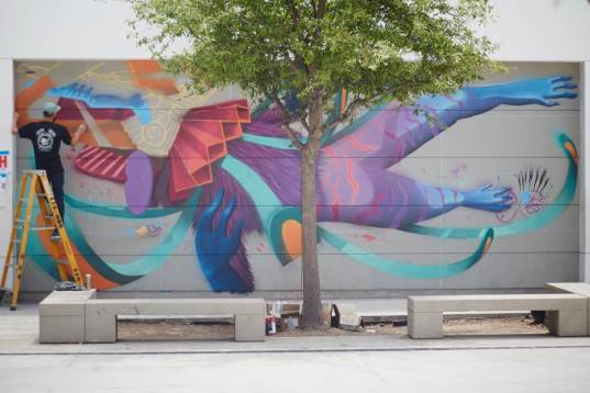 Curiot, RFK Street Art Mural Photo © KungFuBreakfast