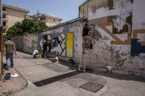 Altrove Street Art Festival, Catanzaro 2016 Photo © Angelo Jaroszuk Bogasz