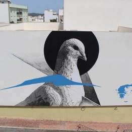 INO, Bloop Street Art Festival, Ibiza