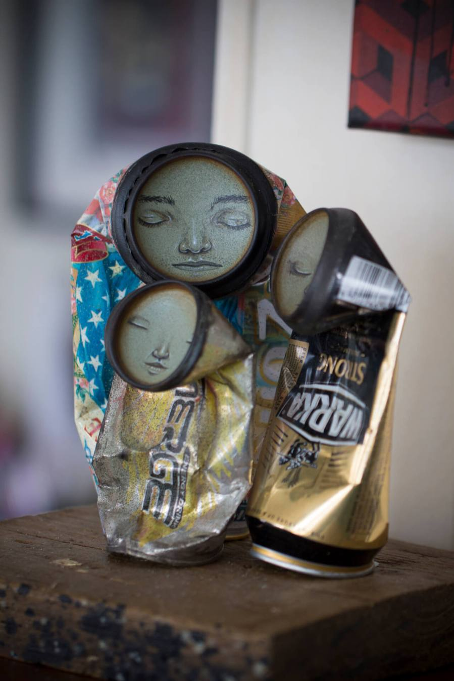 My Dog Sighs, Studio Visit, Photo © Alex Stanhope