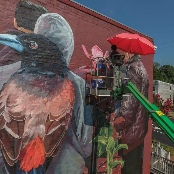 Jade, Richmond Mural Project 2016 Photo credit TostFilms