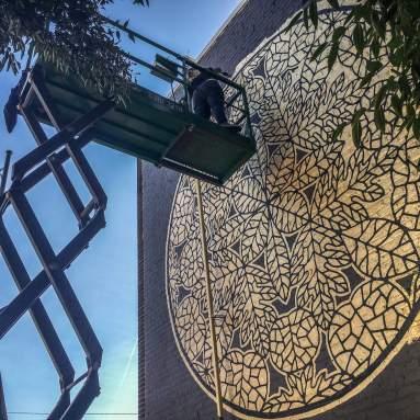 Vero Rivera Richmond Mural Project 2016 Photo credit TostFilms