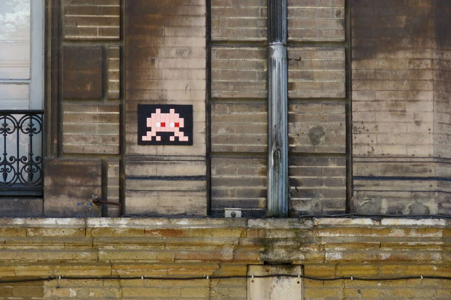 Space Invader, Pink Invasion , Toulouse, France Photo © Space Invader