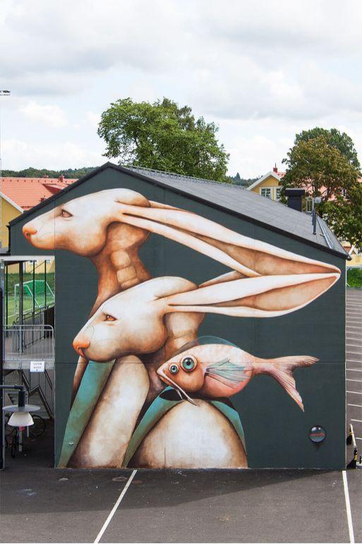 ANA MARIA, Artscape Gothenburg Street Art Festival 2016. Photo Credit Fredrik Åkerberg