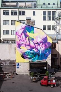 Hueman, Artscape Gothenburg Street Art Festival 2016. Photo Credit Fredrik Åkerberg