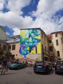 Hueman, Artscape Gothenburg Street Art Festival 2016. Photo Credit Tor Hedendahl