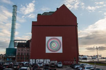 MAGDA SAYEG, Artscape Gothenburg Street Art Festival 2016. Photo Credit Fredrik Åkerberg