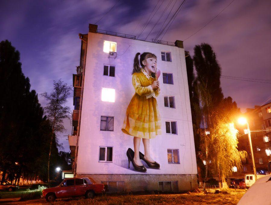 Sasha Korban street art kiev photo credit Amos Chapple:Radio Free Europe 4