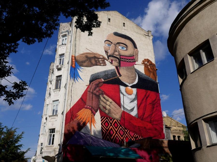 nunca street art kiev photo credit Amos Chapple:Radio Free Europe 2