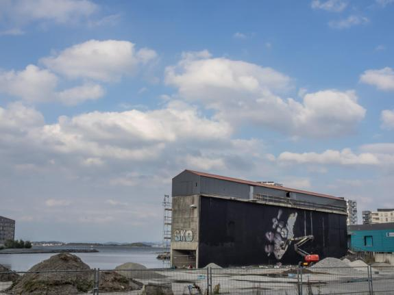 Henrik Uldalen, Nuart Festival, Norway 2016. Photo credit John Rodger