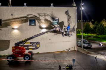 Eron. Nuart 2016, Stavanger, Norway. Photo credit Brian Tallman.