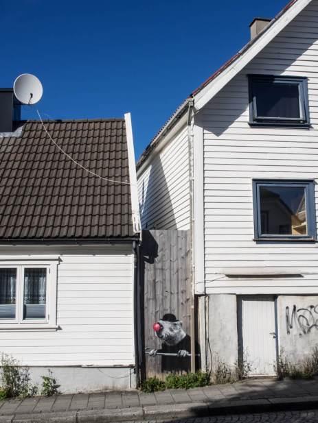 Hama Woods. Nuart 2016, Stavanger, Norway. Photo credit John Rodger.