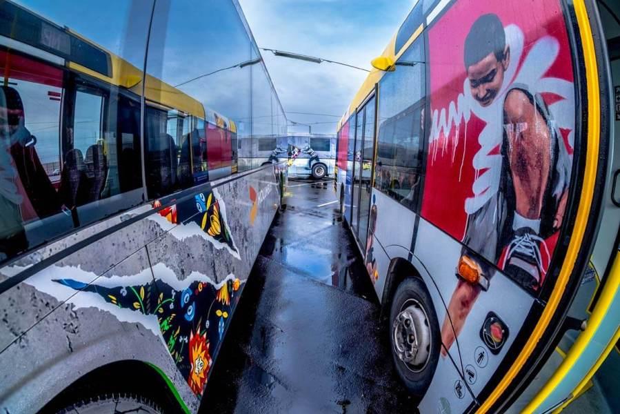Stavanger Street Art Bus, Norway Photo Credit Brain Tallman