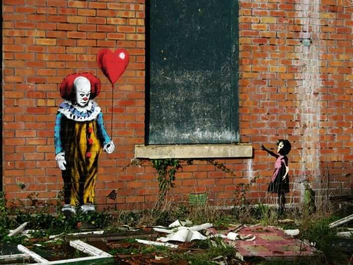 JPS vs Banksy Street Art. Photo Credit JPS