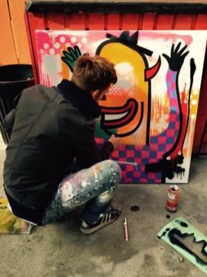 GraffitiStreet Underground Urban Art Group Show, Hoxton Arches, London