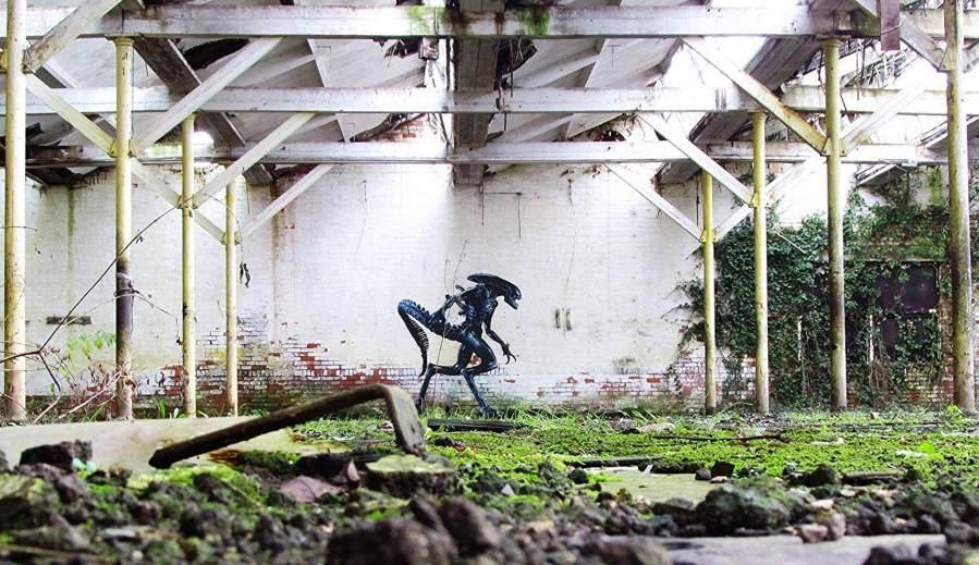 JPS - Alien street art. Photo Credit JPS