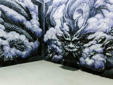 Qi Xinghua, Magic City, Street Art Exhibition, Dresden, Germany. Photo Credit Rainer Christian Kurzeder