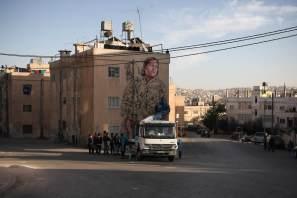 Fintan Magee, Street Art Mural, AptART, Jordan 2016
