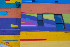 Kenor, Street art mural, Jacksonville, Florida. Photo credit Iryna Kanishcheva