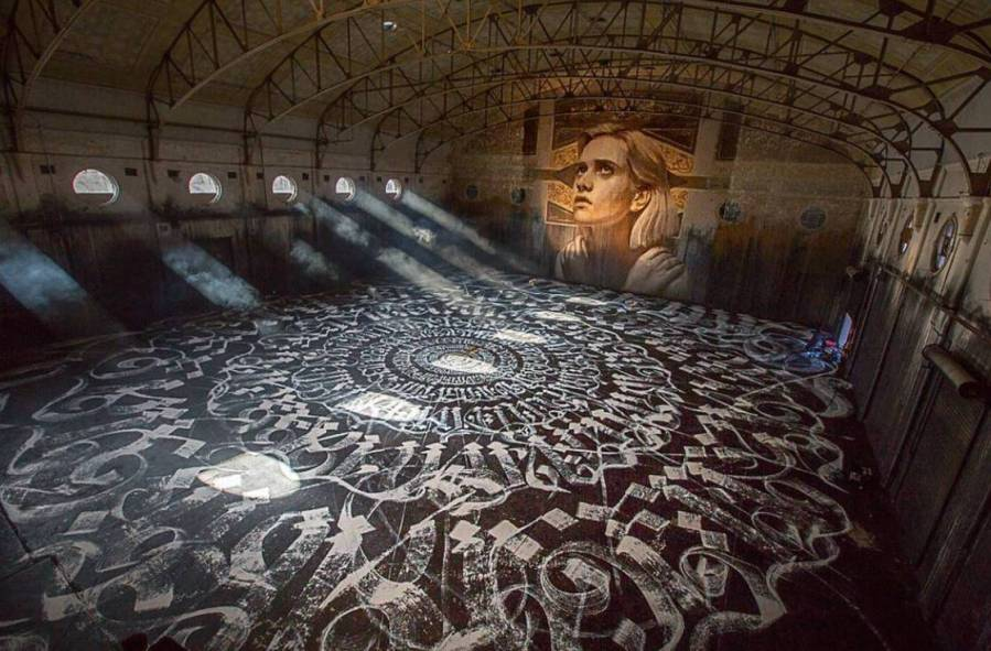 Rone with Mayonaize, Empty Exhibition. Photo Credit P1xels