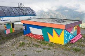 Antonyo Marest – L'oeil qui surveille la montagne , 2016 Crans Montana, La Nationale Photo © Ian Cox