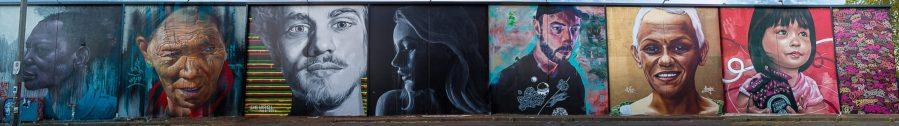 Street Art Mural, Fitzroy, Melbourne, Australia 2016. Photo credit p1xels.