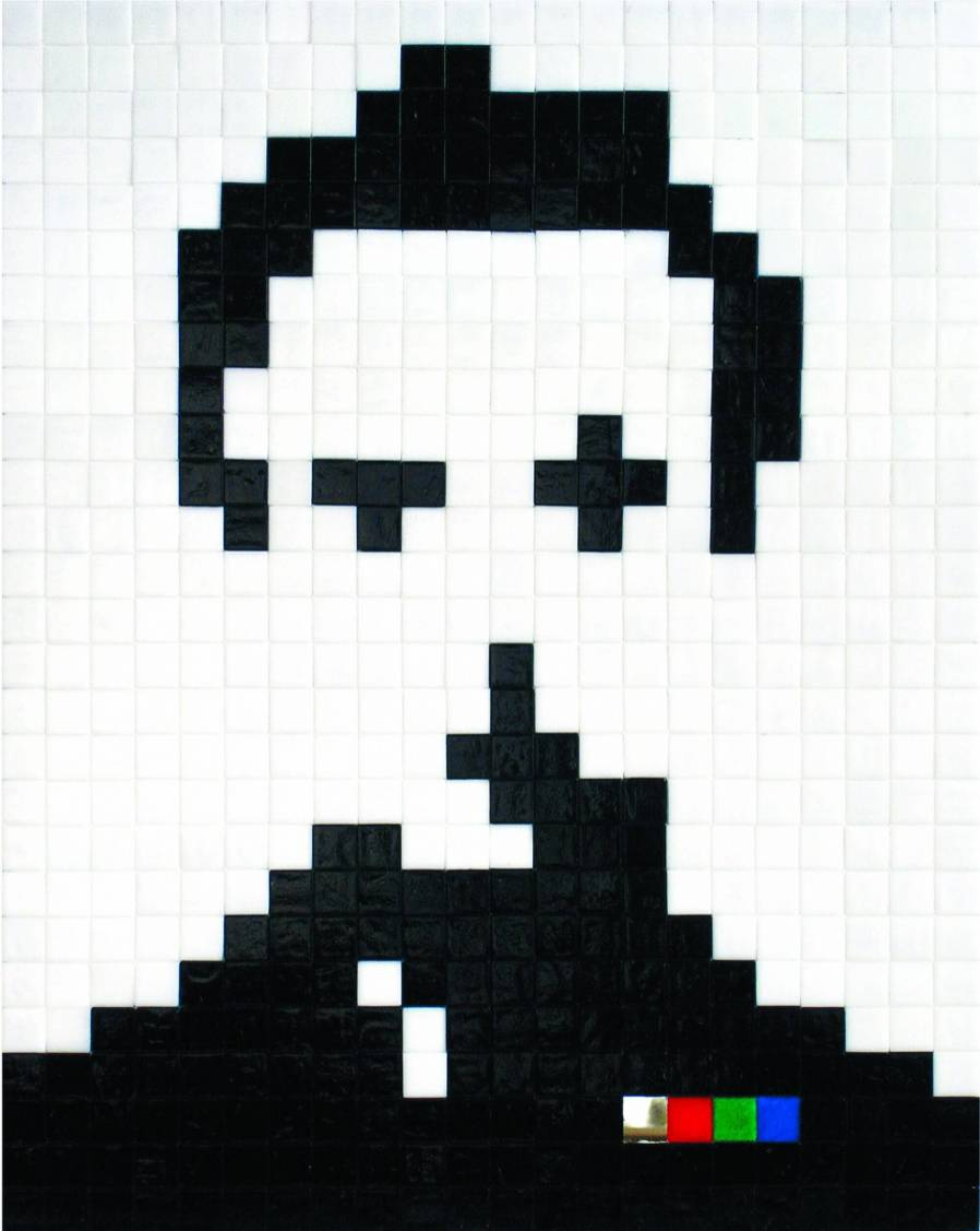 Self Portrait credit Invader