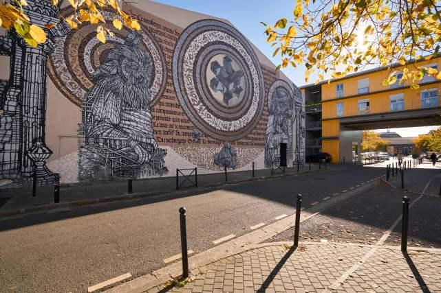 Said-Dokins-Monkey-Bird-street-art-mural-france-leo-luna-.6