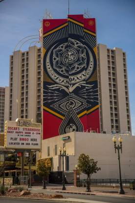 Shepard Fairey, Downtown Las Vegas Photo Credit JustKids