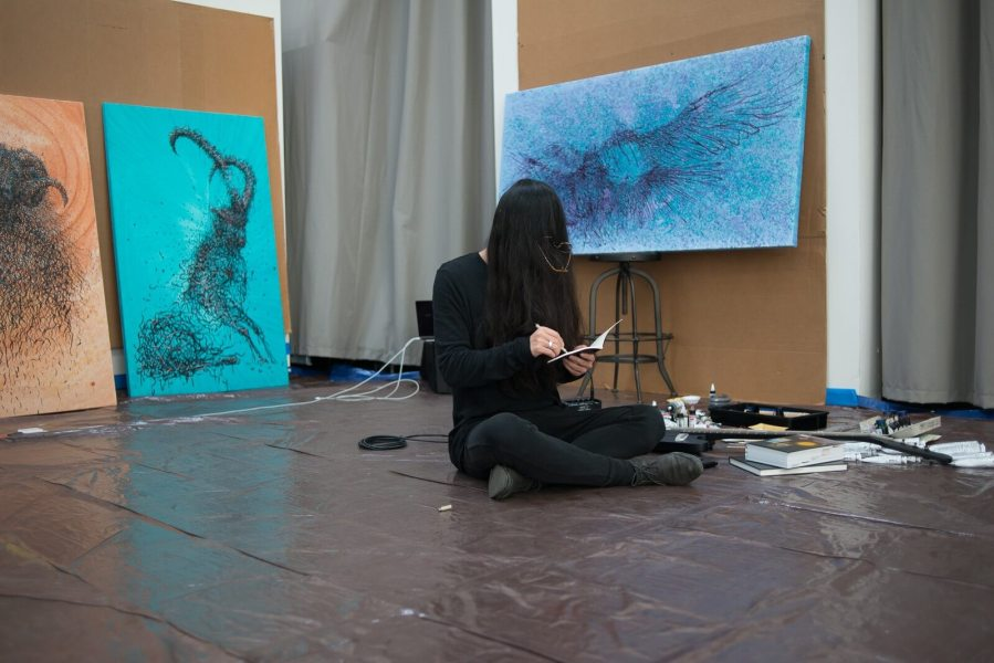 Daleast, Plasma solo show. San Francisco 2017