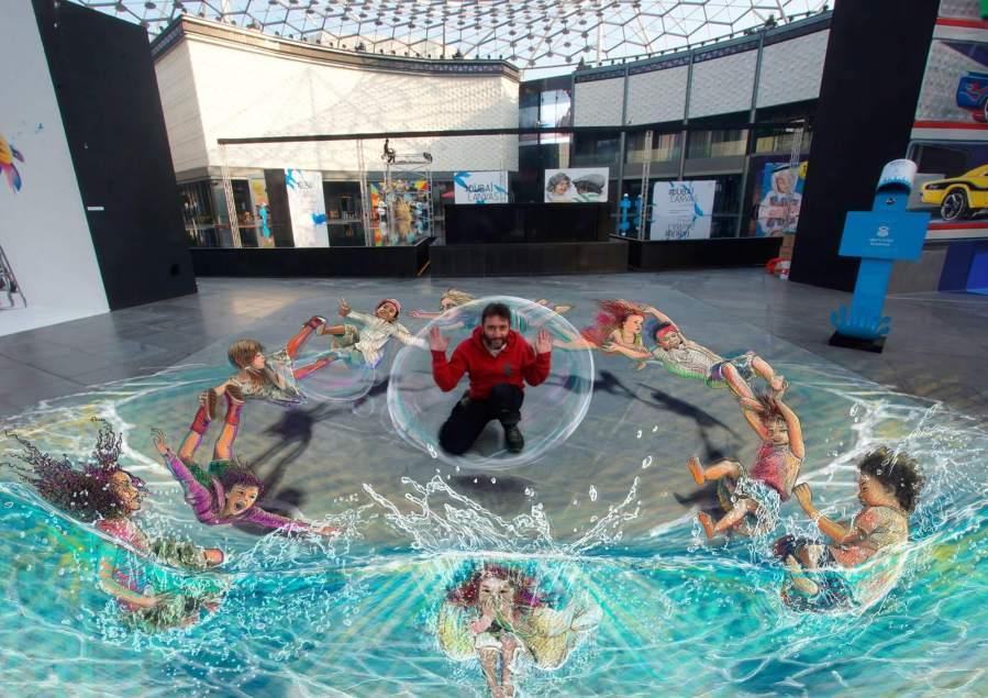 Dubai Canvas, 3D Street Art Festival, 2017