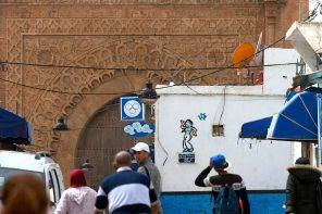 Space Invader RBA_02, Invasion of Rabat. Photo credit Invader