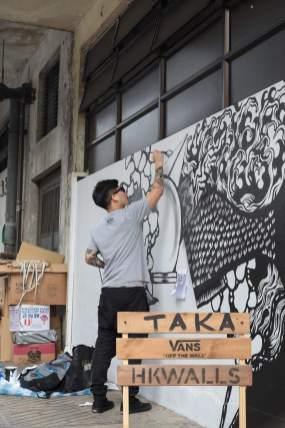 Taka, HKwalls 2017
