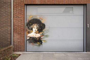 C215, The Crystal Ship Street art Festival, Ostend Belgium 2017 Photo Credit Ian Cox