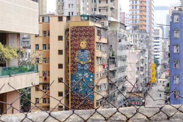 Pixel Pancho, HKwalls 2017