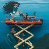 James Bullough, Seawalls: Artists for Oceans, Napier, NZ. Photo Credit Vinny Cornelli