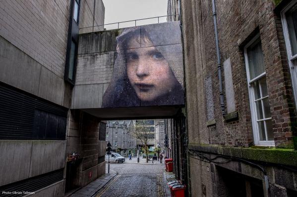Julien De Casablanca, Nuart Aberdeen Street Art Festival 2017. Photo Credit Brian Tallman
