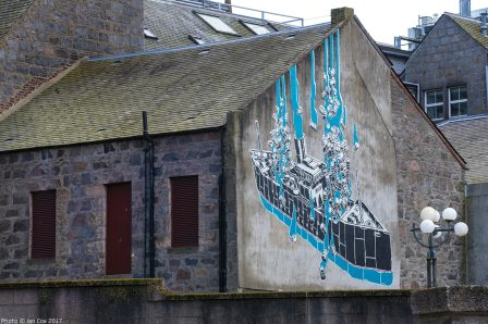 M-City, Nuart Aberdeen Street Art Festival 2017. Photo Credit Ian Cox